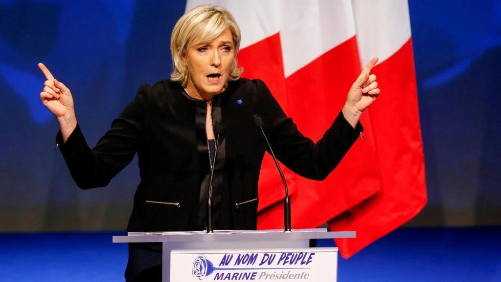 法国极右总统候选人勒庞拒绝回应警方传讯
