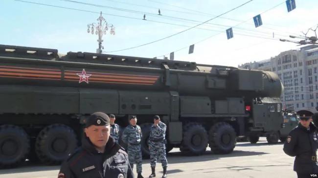 俄美面临新军备竞赛 中共中程导弹第一