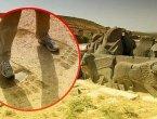 外媒:艾因达拉神庙前的三个巨大脚印让学者们无法解释(组图)