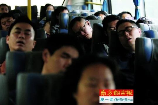 深圳上班族:每天路上花近7个小时 回东莞睡个觉