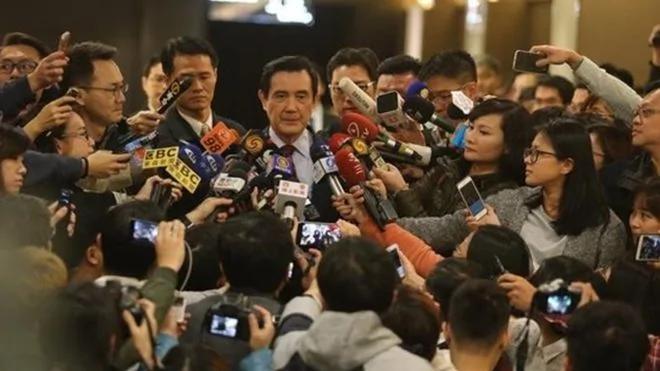 马王政争马英九被起诉 民主进程一部分?