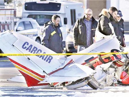 控制塔4发警告没回应 加拿大受训中国飞行员撞机