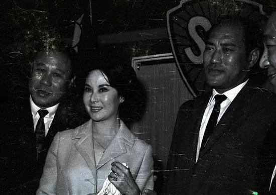 李丽华与第二任丈夫严俊