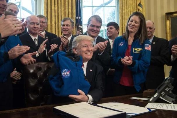 特朗普签法案 探索火星成太空总署重要目标