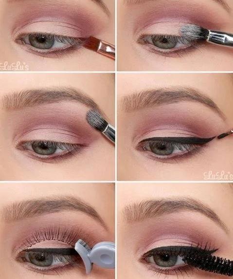 """10个顶级化妆师建议""""让你的眼睛至少大一倍""""化妆小技巧!"""