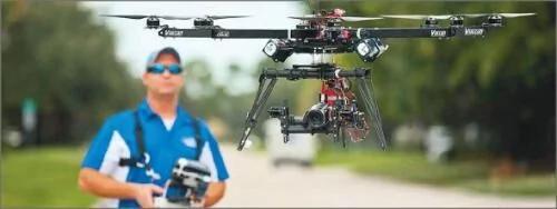 亚马逊终于在美国完成了首次无人机快递 图/