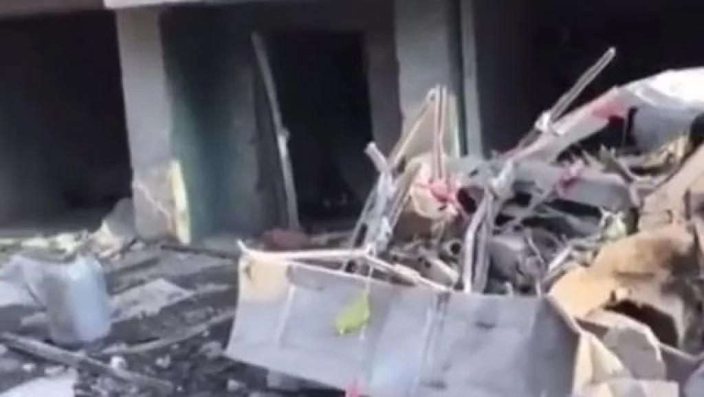 内蒙包头市小区一居民楼天然气管线爆炸 3死25伤
