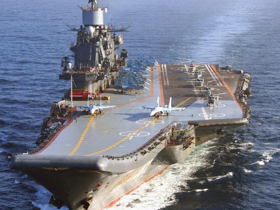 俄罗斯将失唯一航母?11亿美元的代价
