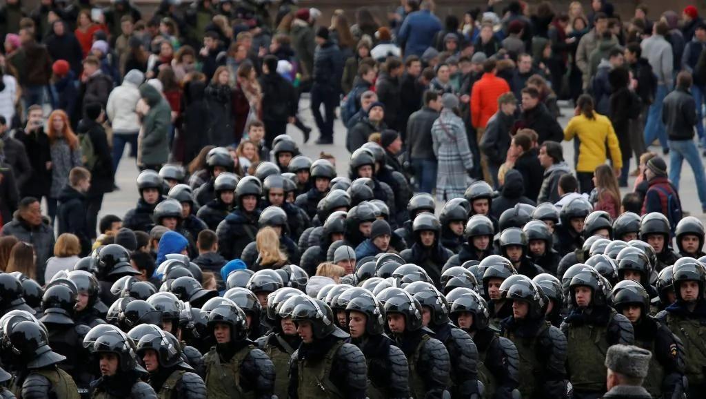 俄罗斯反对派再出发 发动全国示威领袖被捕
