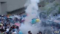 港特首选举刚落幕 突然起诉占中9人 被指死亡之吻(图)