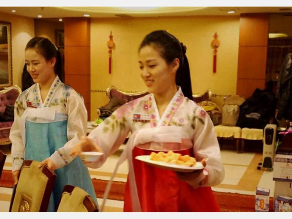 在中国集体脱北的朝鲜女服务员近况曝光