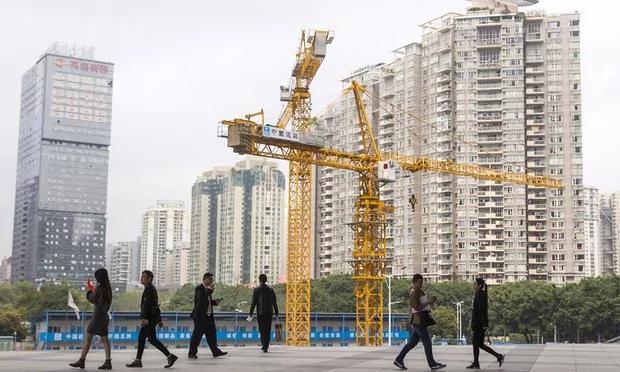 中国的房地产泡沫已近临界点(图)
