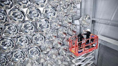"""外媒:德国启动了地球上最大的""""人造太阳""""!"""