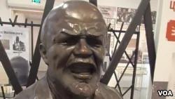 十月革命百年乌克兰拍卖列宁像