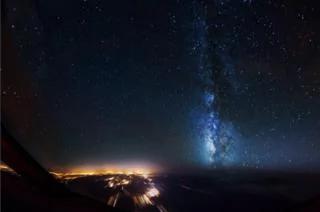 图辑:飞行员万米高空看世界——美妙无比