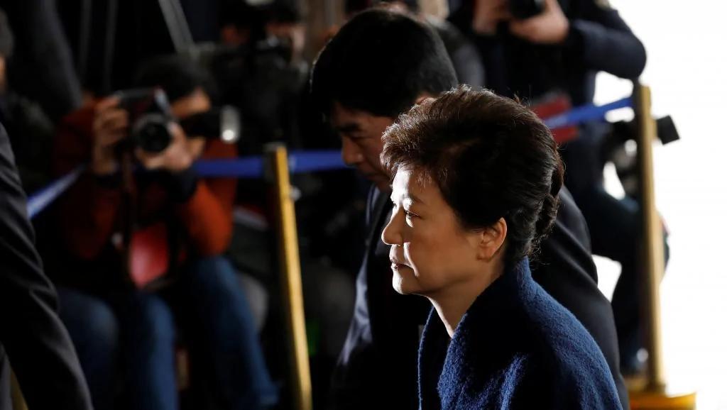 韩国检方宣布4月17日对朴槿惠提起公诉
