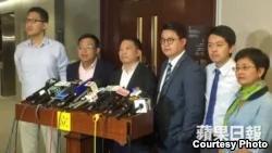 香港民主黨主席特赦言論炸窩後收回