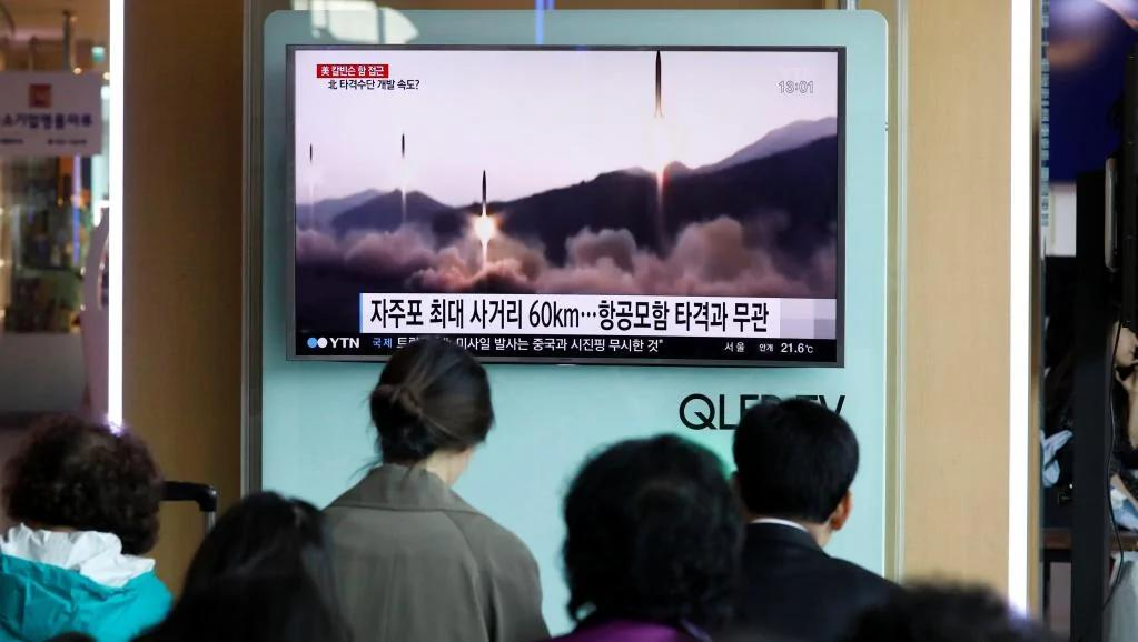 美国新泽西大都会等地区举行防核演习 使人联想到朝鲜核危机