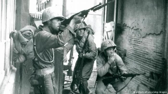 小小朝鲜半岛 大国较量舞台 中国人死亡80多万