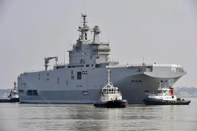 法军舰抵九州将与美英日军演 料惹中方不满