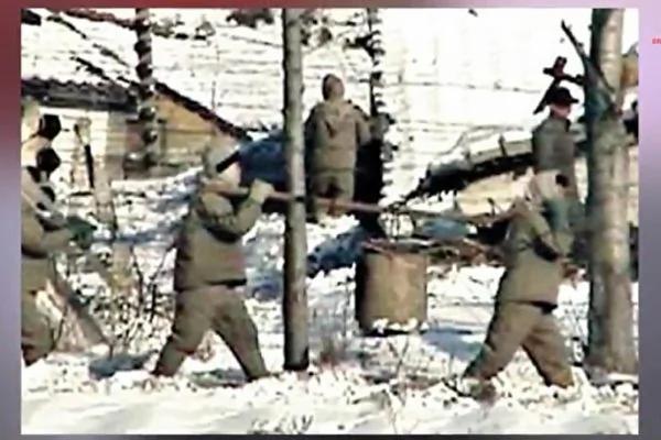 一名曾在朝鲜劳改集中营担任守卫的女脱北者,揭露其亲眼目睹囚犯遭遇虐杀及酷刑的非人惨状,即使初生婴儿也难逃被无情杀戮的恶运。图为朝鲜集中营的囚犯。(Breaking News Today YouTube视频截图)