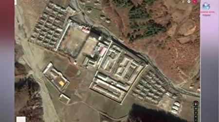 朝鲜咸镜北道稳城郡第12号劳改营。(Breaking News Today YouTube视频截图)