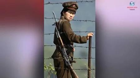 一名在朝鲜集中营的女守卫。(Breaking News Today YouTube视频截图)