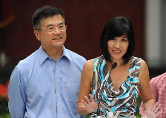 骆家辉前妻:我们已离婚多年 她拒谈为何分手 两个小三害的?(图)