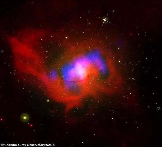 天文学家发现奇怪黑洞:如心脏般向外输送能量