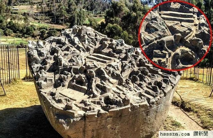 外媒:古代巨石拥有超过200个几何状和兽行图像 考古学家无法解释