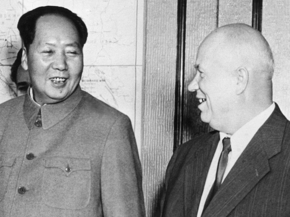 毛泽东忍不住骂赫鲁晓夫