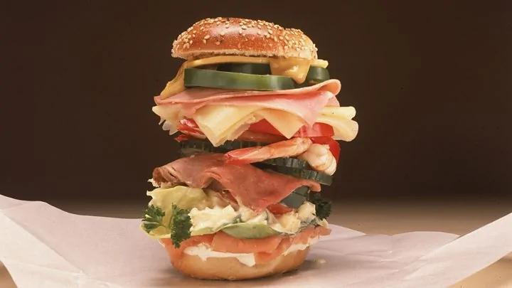 你有小笼包 我有三明治?