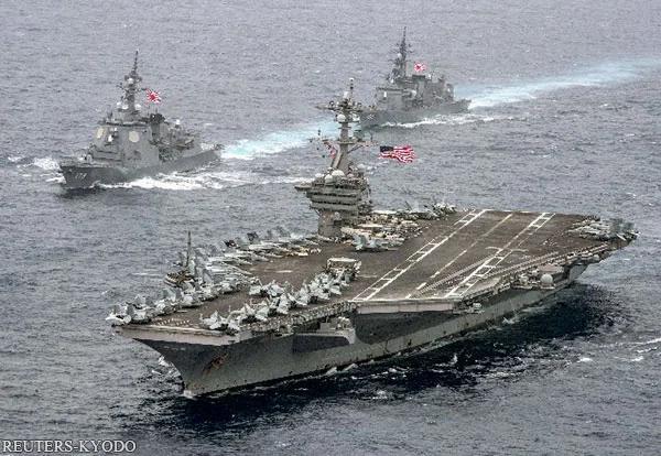 """美军""""佯攻""""探明朝鲜地下设施完成包围网"""