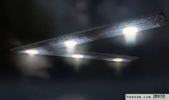 外媒:专家宣称三角形UFO是美国政府用外星科技建造的!