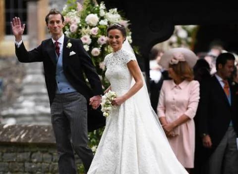 揭秘凱特王妃妹妹與丈夫羅曼史:10年終成正果