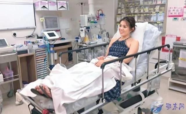 乐极生悲!女星订婚前戒指戴太多 被送医院险截肢