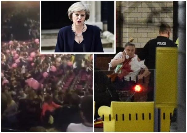 曼徹斯特恐襲:英首相梅譴責恐襲 向死難者致哀