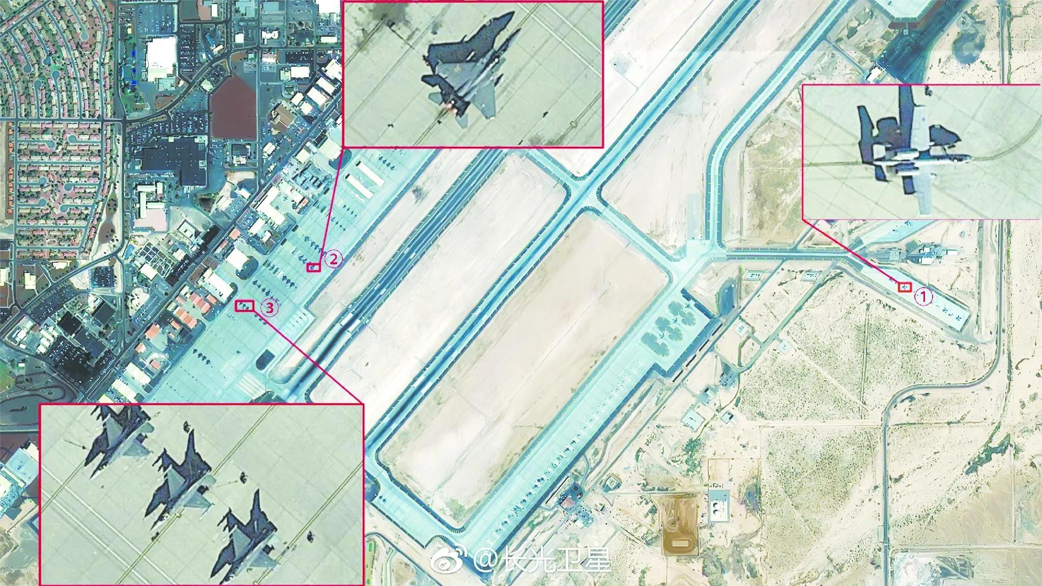 《环时》吹牛露馅 谷歌美军基地照片冒充中国卫星拍摄