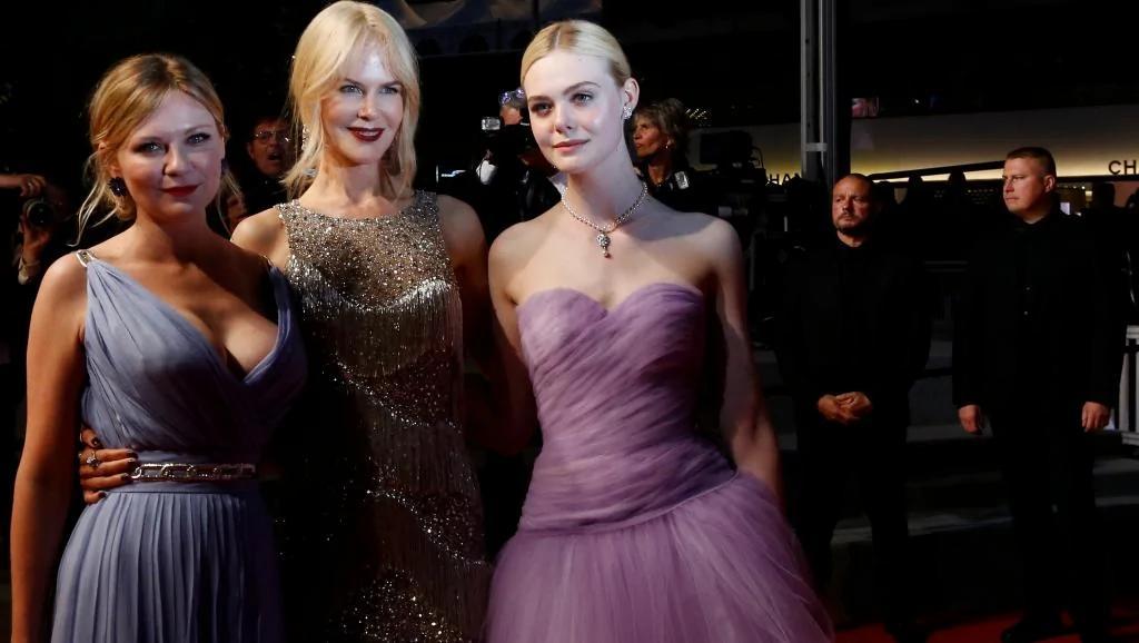 妮可基德曼再度红地毯现身 媒体欢迎『牡丹花下』