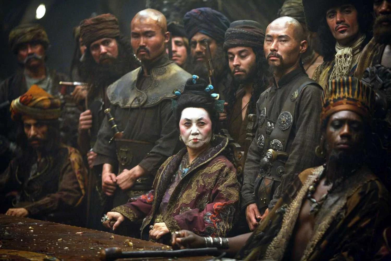 她曾是中国妓女 后来成为世界第一的女海贼王