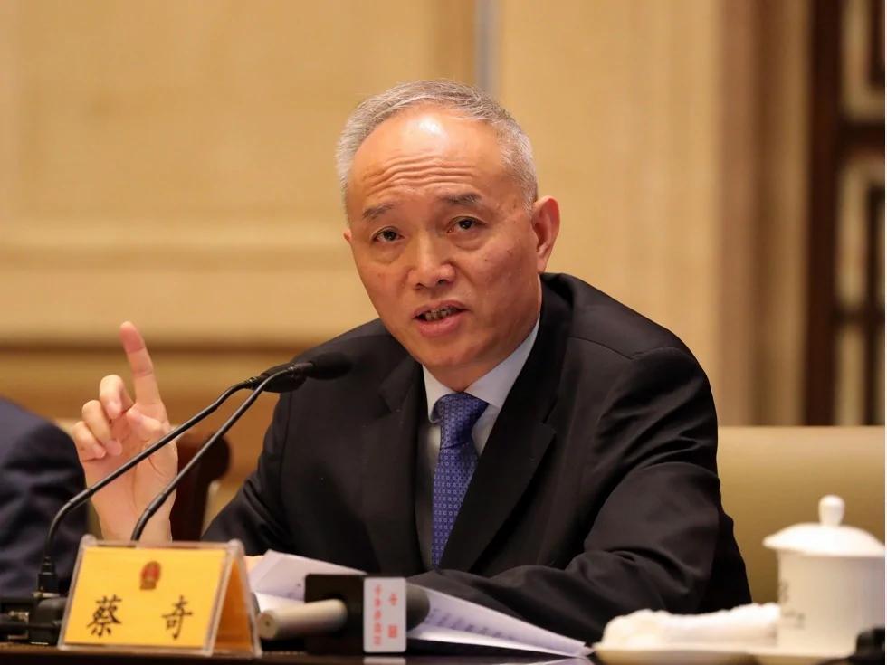 火箭直升 北京书记蔡奇三年五连跳