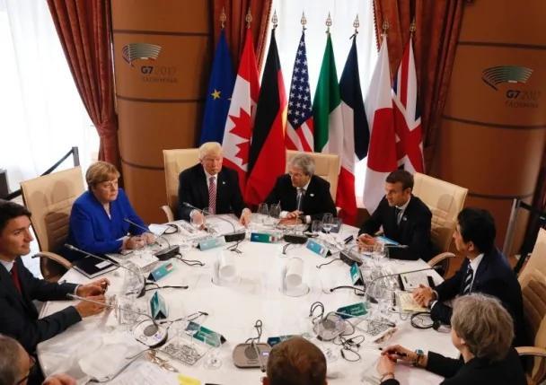 G7领袖签署反恐宣言 巴黎气候协定悬而未决