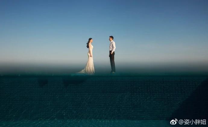 何姿唯美 郭晶晶优雅高级 只有田亮拖了跳水队婚纱照的后腿