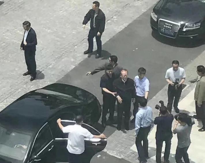 网传江泽民5月底访上海科技大照片 拍摄时间却是早春