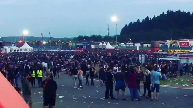 德国音乐节受不明恐袭威胁 9万观众撤离