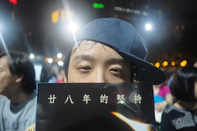 大陆来港生在香港维园:纪念六四是一种承诺 我没忘