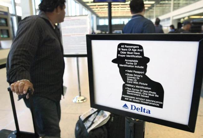美國多機場試行指紋、人臉識別登機