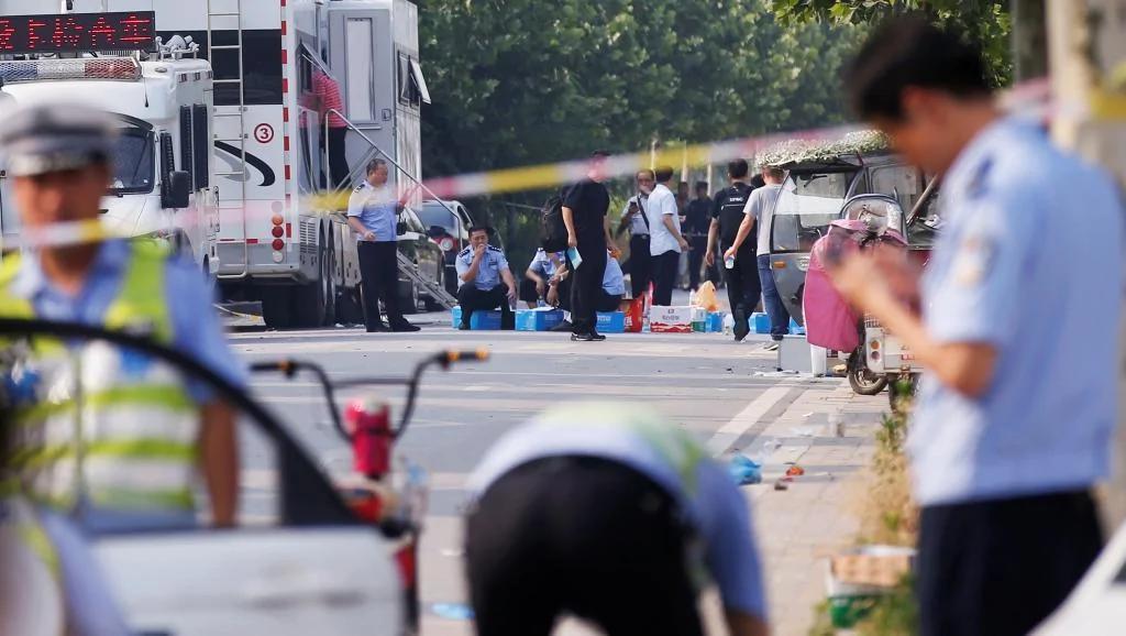 """江苏幼儿园爆炸 嫌犯当场死亡?网民质疑""""死无对证"""""""