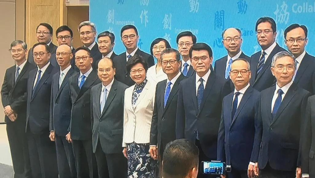 林郑月娥称树新风但新班子九成半为旧人 评论称北京收紧任命