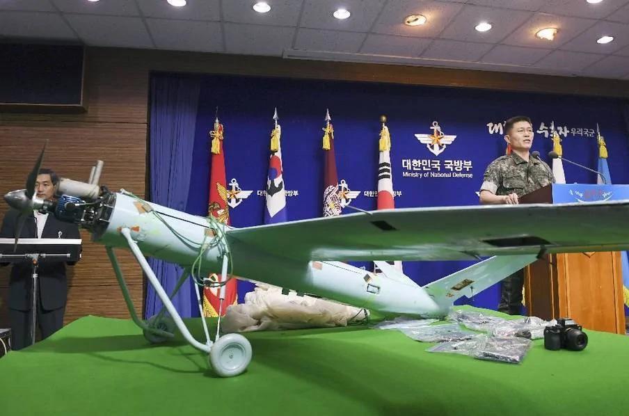 朝鲜用这架无人机奔袭200公里拍萨德 返航时坠毁